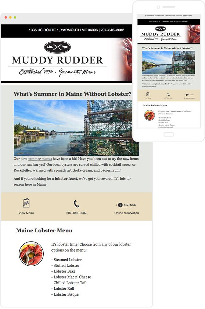 Muddy Rudder Sample newsltter